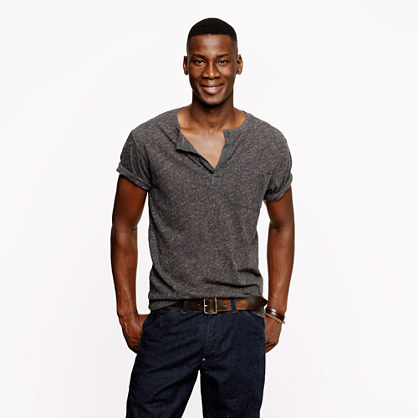 Wallace & Barnes short-sleeve henley