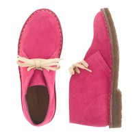 Girls' colored suede MacAlister boots