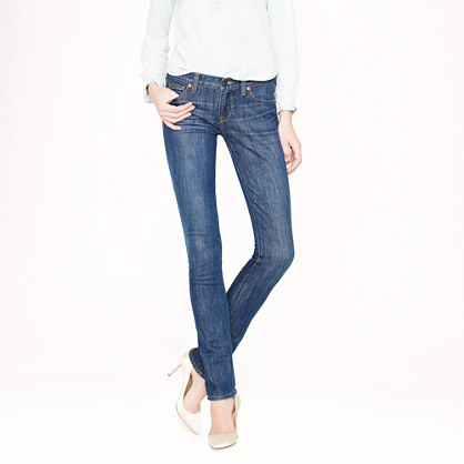 Tall matchstick jean in Old Glory wash