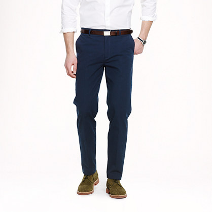 Ludlow classic suit pant in Japanese seersucker