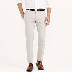 Ludlow classic suit pant in Japanese seersucker