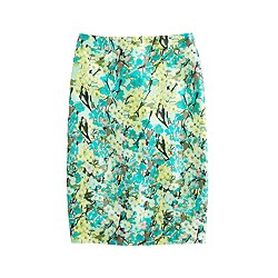 Collection pencil skirt in abstract floral
