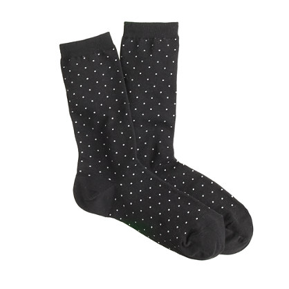Tiny-dot socks