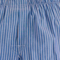 Thin-stripe boxers in blue