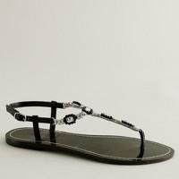 Pietra jeweled capri sandals