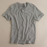 Field knit V-neck T-shirt