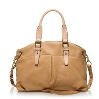 Leather gallery satchel