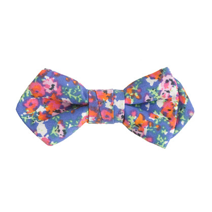 Boys' Liberty print bow tie