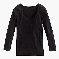 Stretch suiting T-shirt