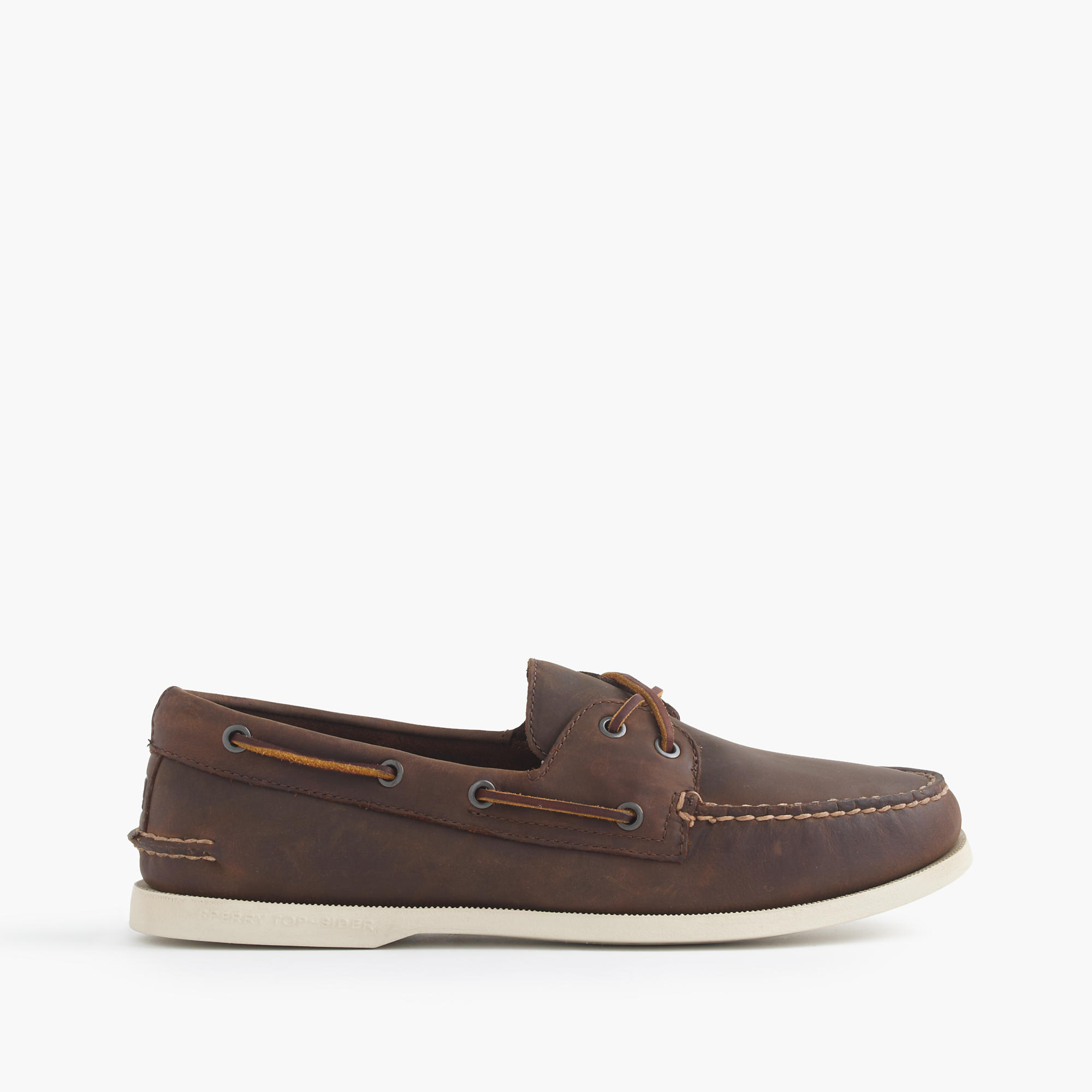 Sperry For J.Crew Authentic Original 2-Eye Broken-In Boat Shoes ...