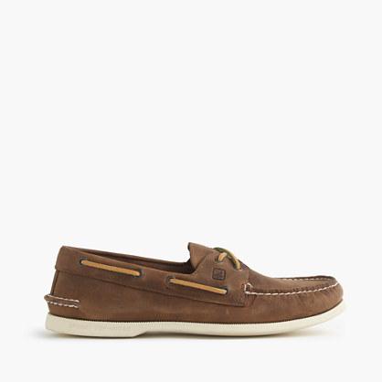 Men's Sperry® for J.Crew Authentic Original 2-eye broken-in boat shoes