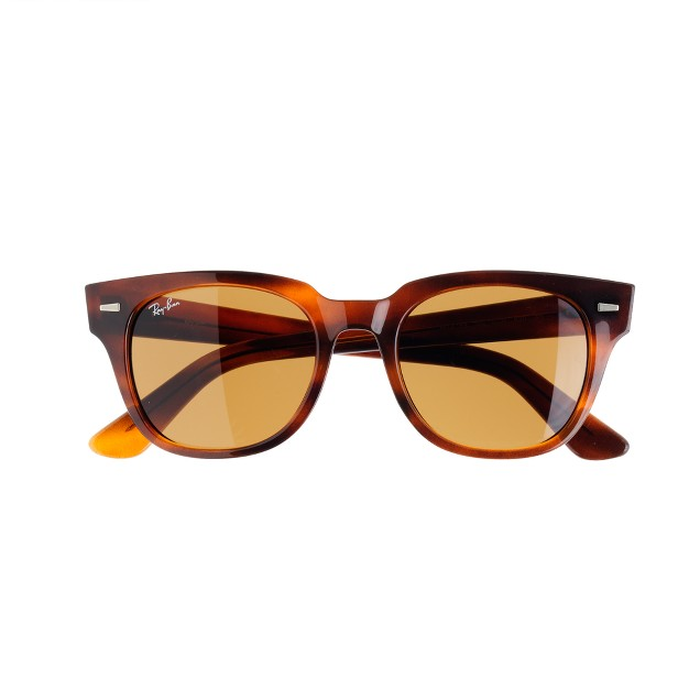 Ray-Ban® Meteor sunglasses with brown lenses