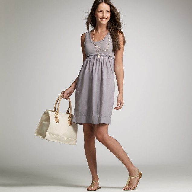 Slub cotton cottage dress