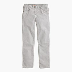 Girls' stretch vintage Riley cord