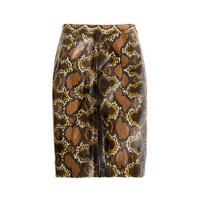 Collection No. 2 pencil skirt in python