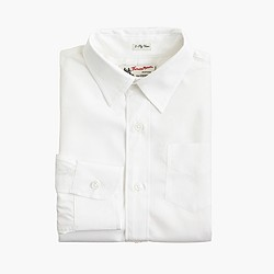 Boys' Thomas Mason® for crewcuts Ludlow shirt in white
