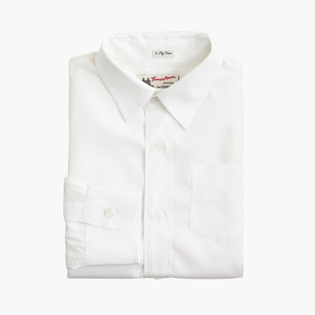 J cre white dress shirt for toddlers