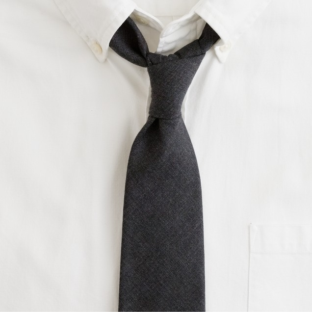 Downtown wool tie