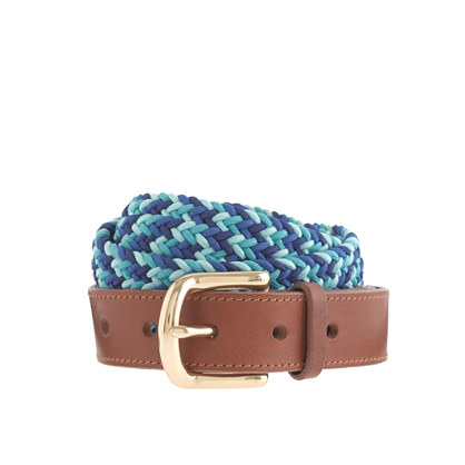 Woven cord belt