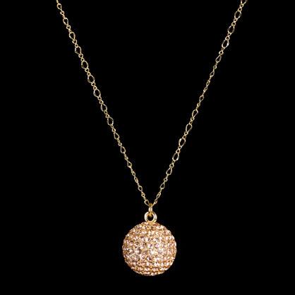 Fireball-charm necklace