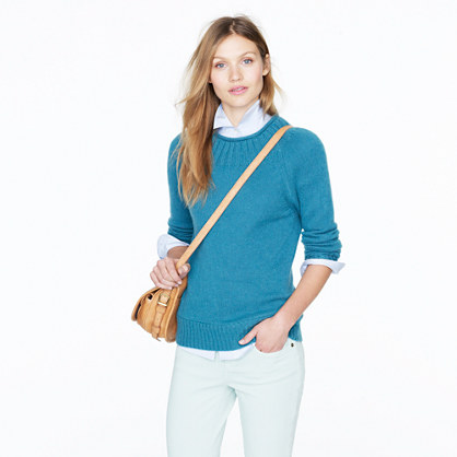Collection cashmere ribbed sweater