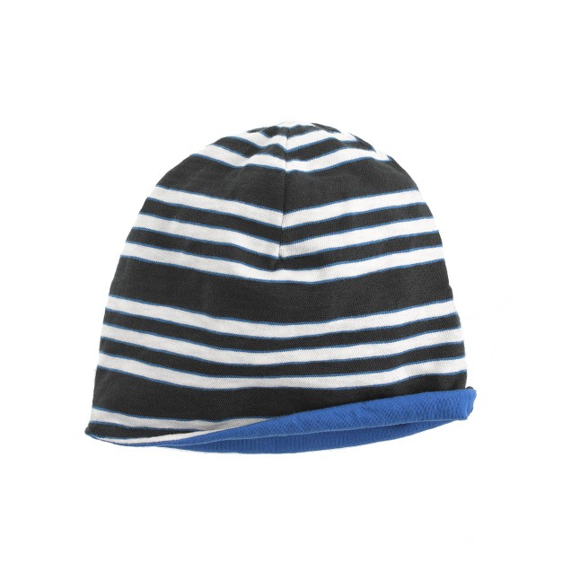 Boys' reversible stripe cap