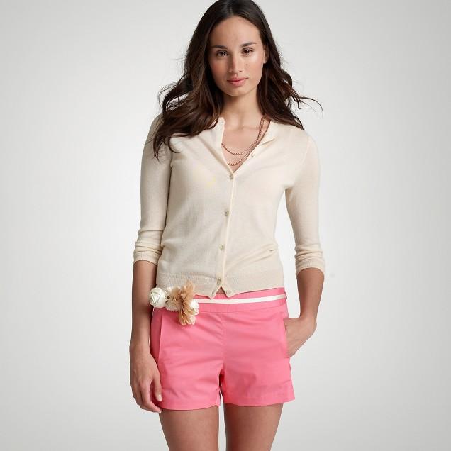 Crisp cotton short