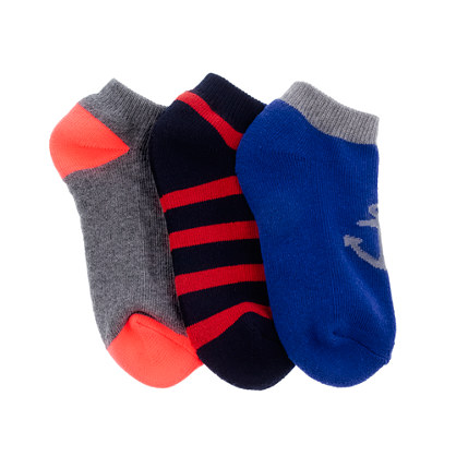 Boys' sport socks three-pack
