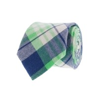 Boys' flannel tie in fleetwood plaid