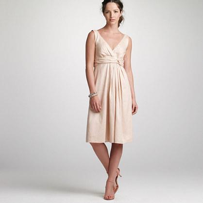 Twist sash dress