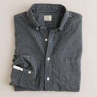 Secret Wash button-down shirt in Woolf check