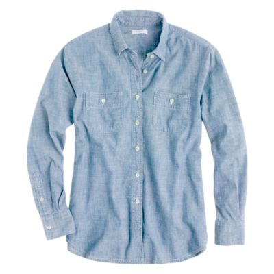 Japanese selvedge chambray shirt :