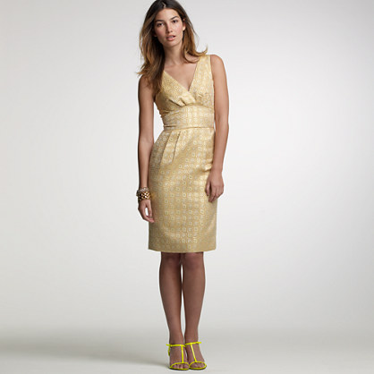 Wallpaper jacquard dress