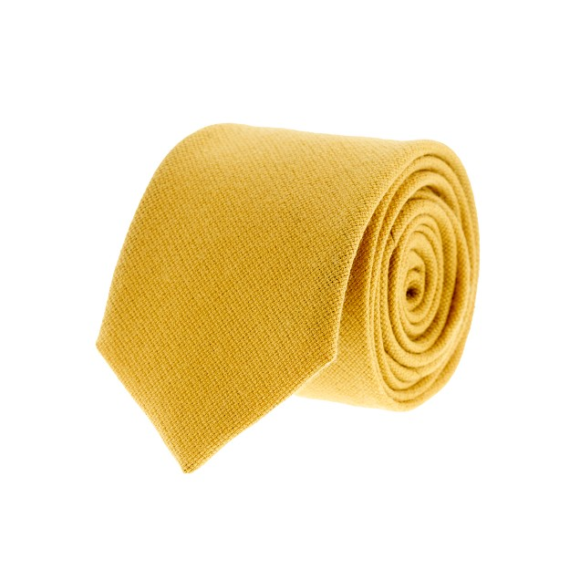 Fox Brothers wool hopsack tie
