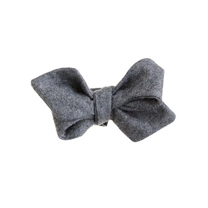 Fox Brothers wool flannel bow tie