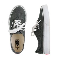 Kids' Vans® authentic chambray sneakers