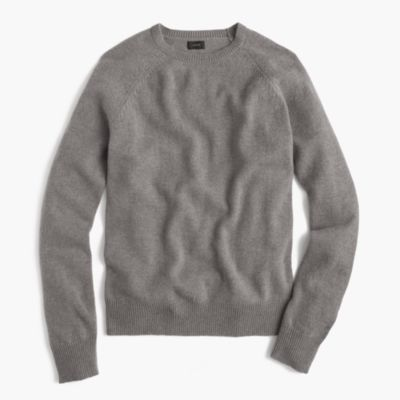 Normally $70, this sweater is 64 percent off as part of this sale. It is available in grey, red and 'birch' (Photo via JCrew)