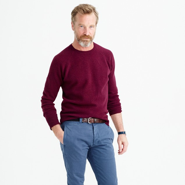 Tall lambswool sweater