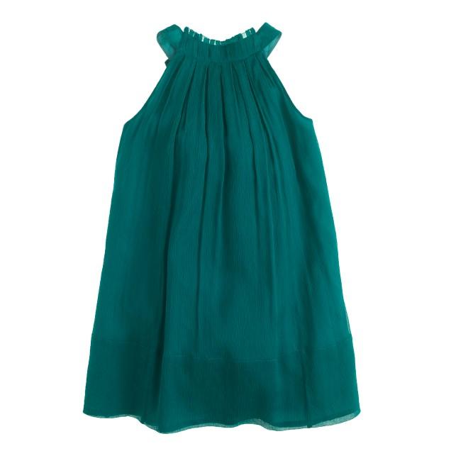 Girls' Collection Evie dress in silk chiffon