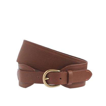 Double-width belt