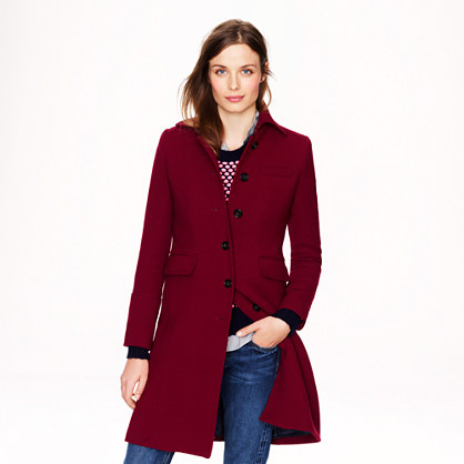 Petite double-cloth metro coat with Thinsulate®