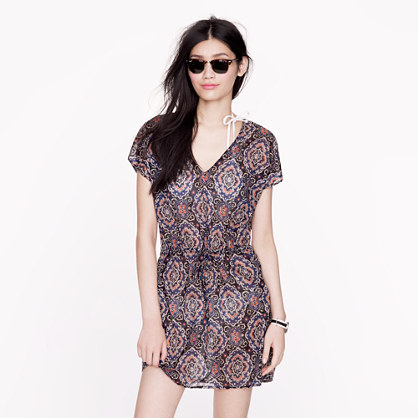 Midnight paisley tunic