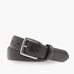 Stitched-edge belt