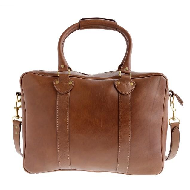 Montague single-compartment briefcase