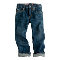 Boys' straight jersey-lined jean
