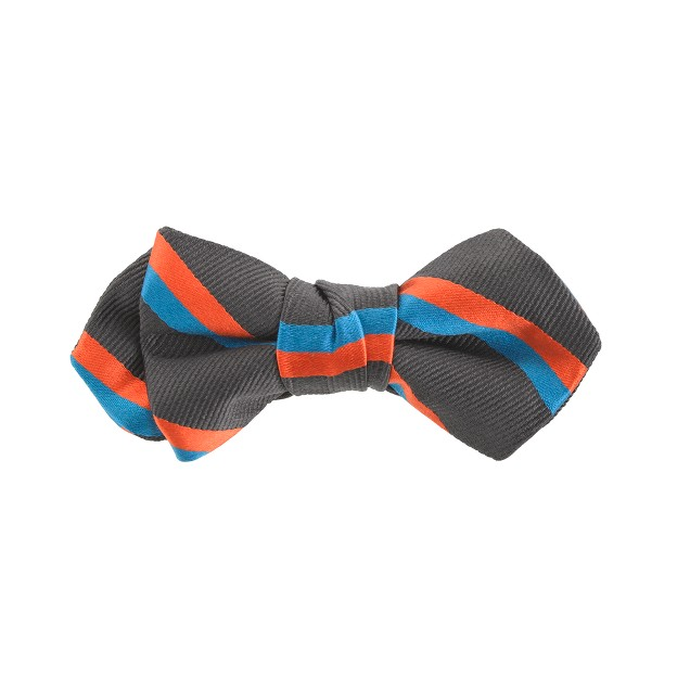 Boys' double-stripe bow tie