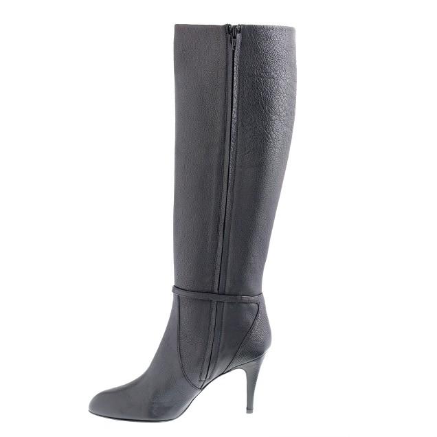 Keegan high-heel buckle boots
