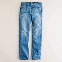 Vintage slim jean in worn in wash