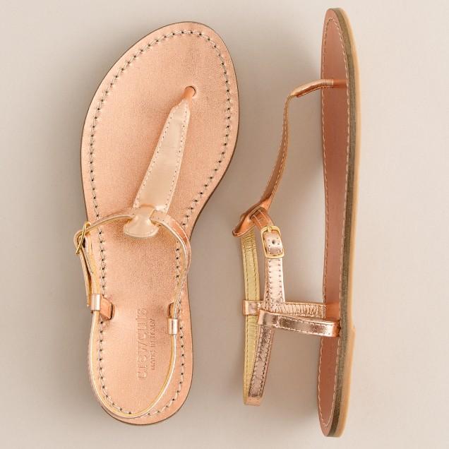 Girls' t-strap sandals