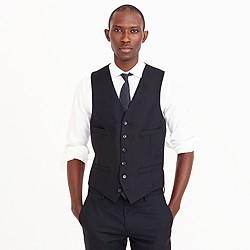 Ludlow suit vest in Italian wool